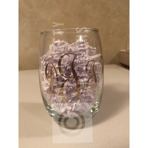 Other - initial wine glass